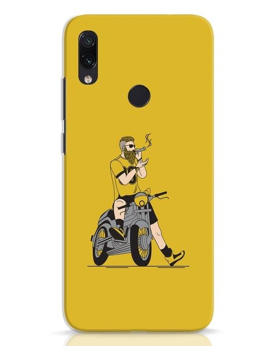Shop Biker Swag Xiaomi Redmi Note 7 Pro Mobile Cover-Front