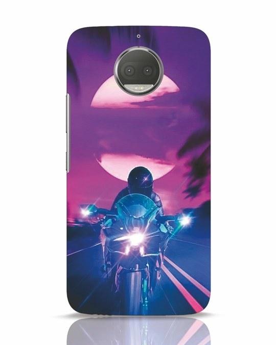 Shop Bikerrr Moto G5s Plus Mobile Cover-Front