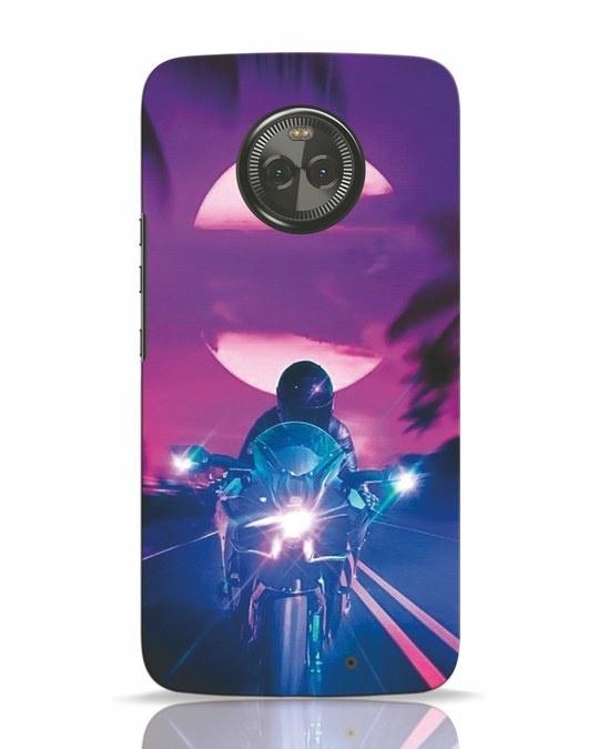 Shop Bikerrr Moto X4 Mobile Cover-Front