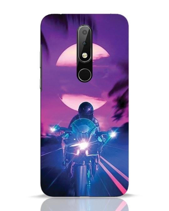 Shop Bikerrr Nokia 6.1 Plus Mobile Cover-Front