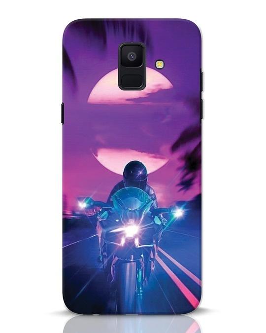 Shop Bikerrr Samsung Galaxy A6 2018 Mobile Cover-Front