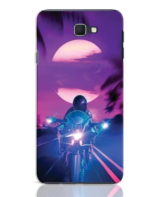 Shop Bikerrr Samsung Galaxy J7 Prime Mobile Cover-Front