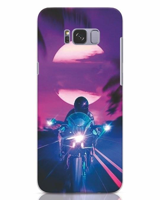 Shop Bikerrr Samsung Galaxy S8 Plus Mobile Cover-Front