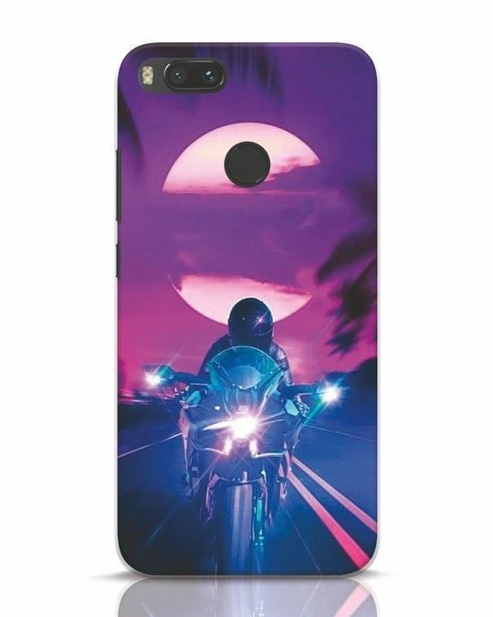 Shop Bikerrr Xiaomi Mi A1 Mobile Cover-Front