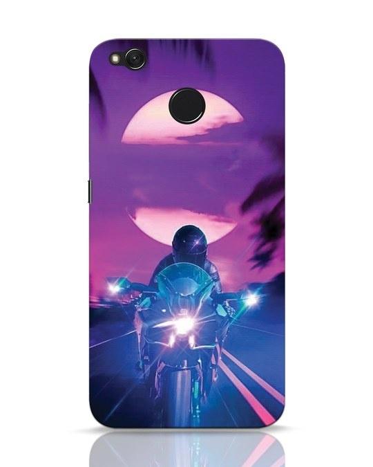 Shop Bikerrr Xiaomi Redmi 4 Mobile Cover-Front