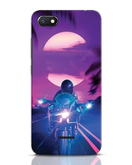 Shop Bikerrr Xiaomi Redmi 6A Mobile Cover-Front