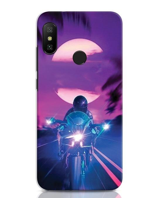Shop Bikerrr Xiaomi Redmi Note 6 Pro Mobile Cover-Front