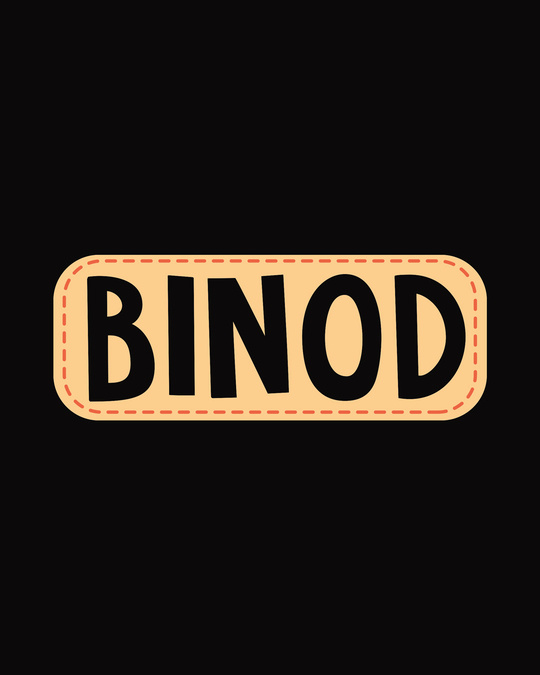 Shop Binod Tha Boyfriend T-Shirt Black