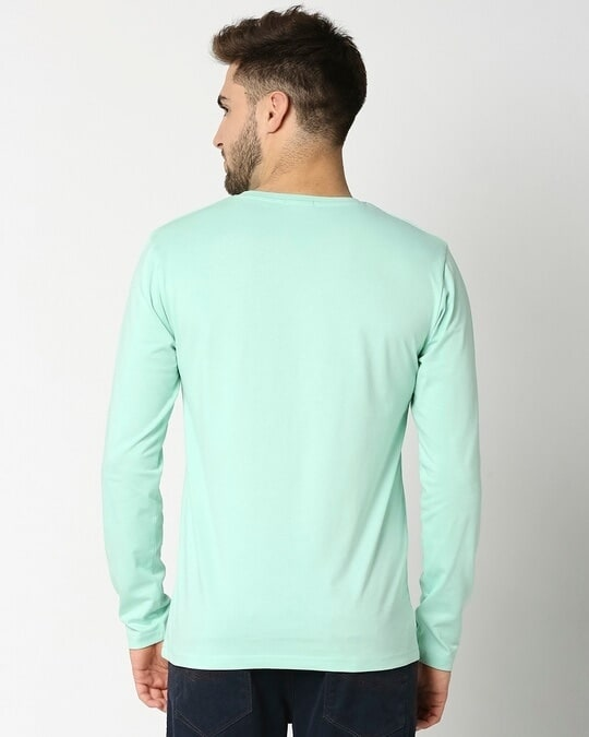 Shop Bird Egg Green Full Sleeve T-Shirt-Full