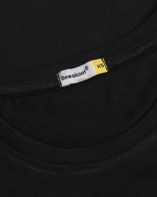 Shop Jet Black Boyfriend T-Shirt