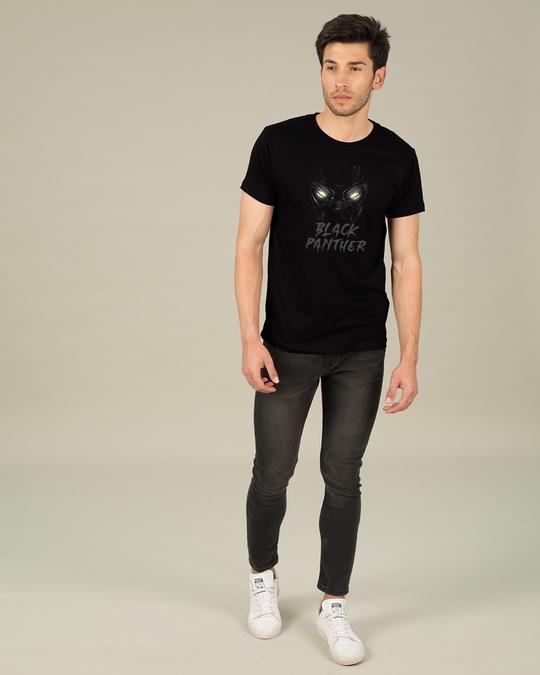 Shop Black Eyes Half Sleeve T-Shirt (AVEGL)-Full