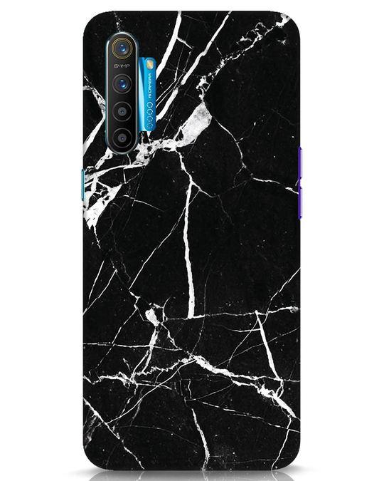 Shop Black Marble Realme XT Mobile Cover-Front