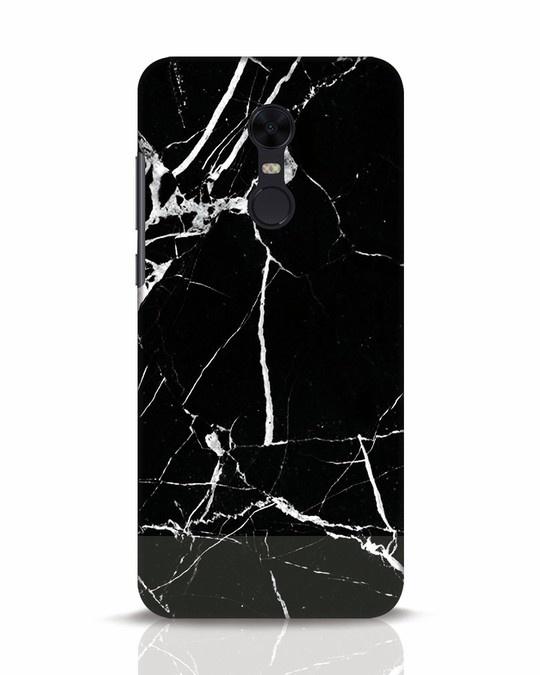 Shop Black Marble Xiaomi Redmi Note 5 Mobile Cover-Front