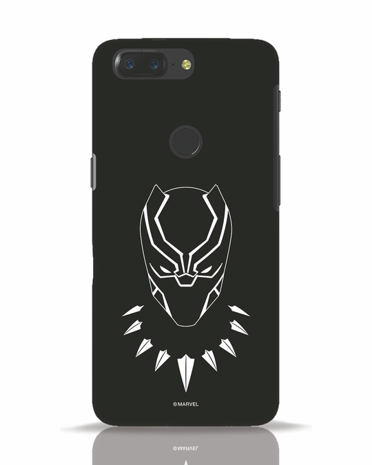 Shop Black Mask OnePlus 5T Mobile Cover-Front
