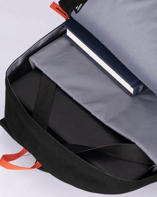 Shop Black Mission Laptop Backpack-Full