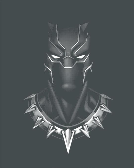 Shop Black Panther Of Wakanda Fleece Sweater (AVL) (GID)-Full