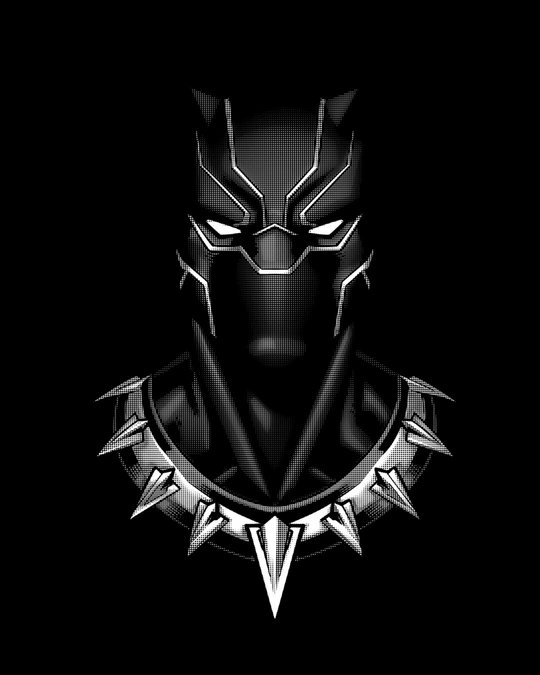 Shop Black Panther Of Wakanda Glow In Dark Full Sleeve T-Shirt (AVL) Black-Full