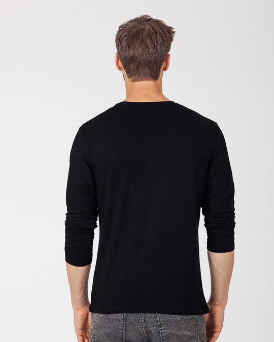Shop Black Panther Printed Badge Full Sleeve T-Shirt (AVL)-Full