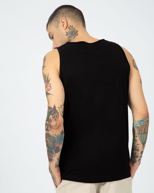 Shop Black Spidey Vest (FFHL)-Back