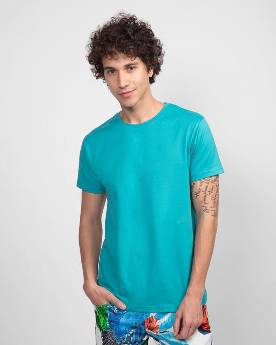 Shop Men's Half Sleeve Pack of 2 (Black & Blue)-Design