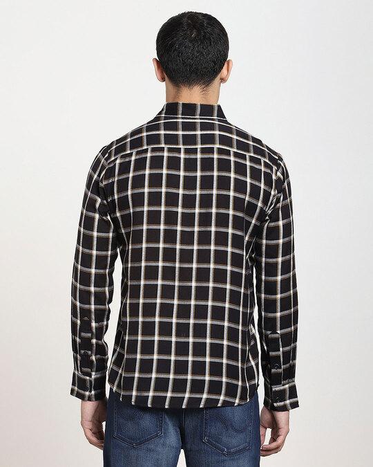 Shop Men's Checks Full Sleeve Pocket Shirt-Full