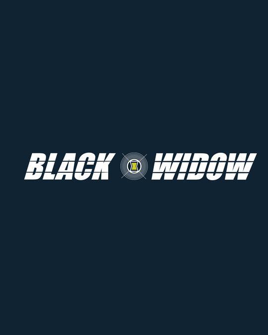 Shop Black Widow Half Sleeve T-Shirt (AVL)