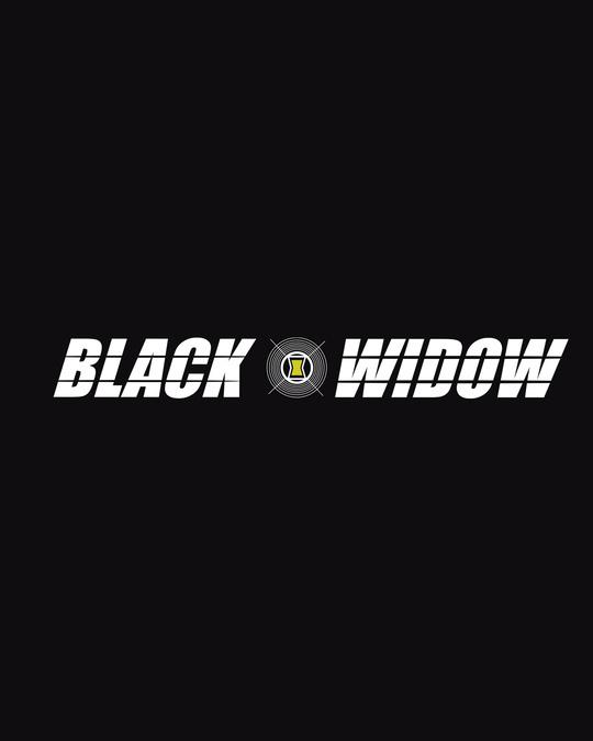 Shop Black Widow Half Sleeve T-Shirts (AVL)