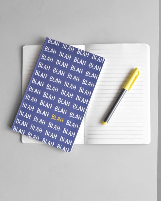 Shop Blah Blah Soft Bound Notebook-Full