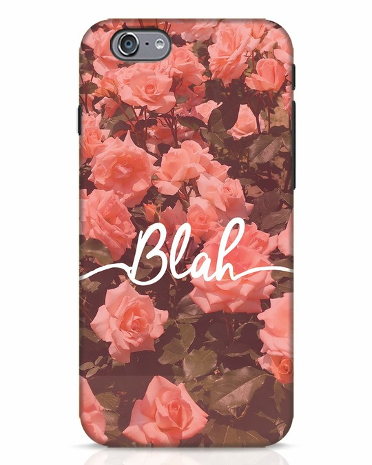 Shop Blah iPhone 6s Mobile Cover-Front