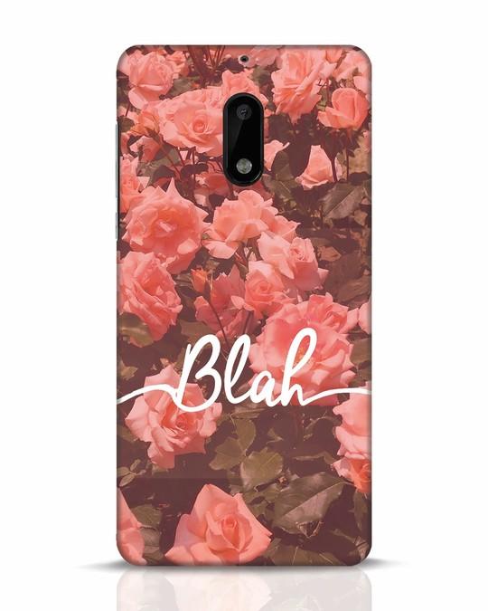 Shop Blah Nokia 6 Mobile Cover-Front