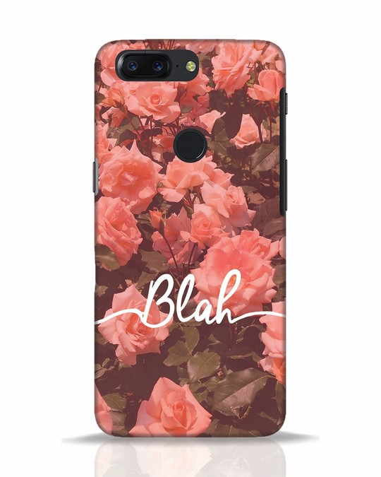 Shop Blah OnePlus 5T Mobile Cover-Front