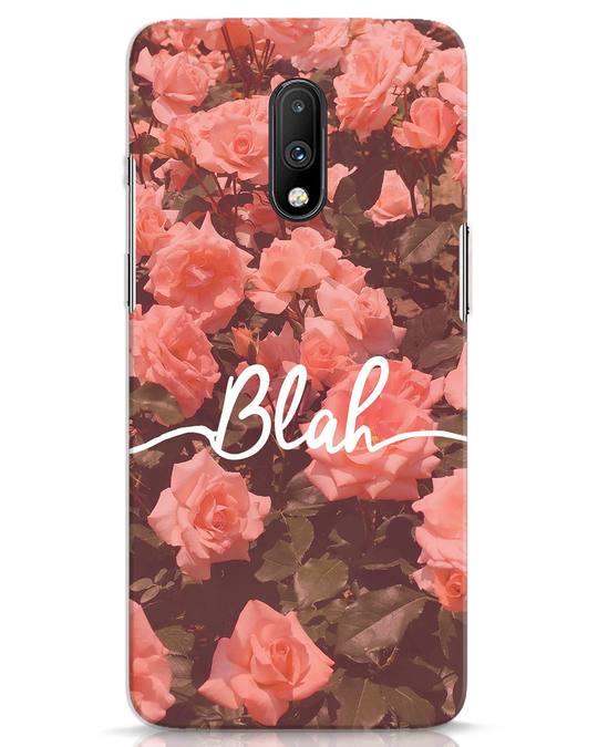Shop Blah OnePlus 7 Mobile Cover-Front