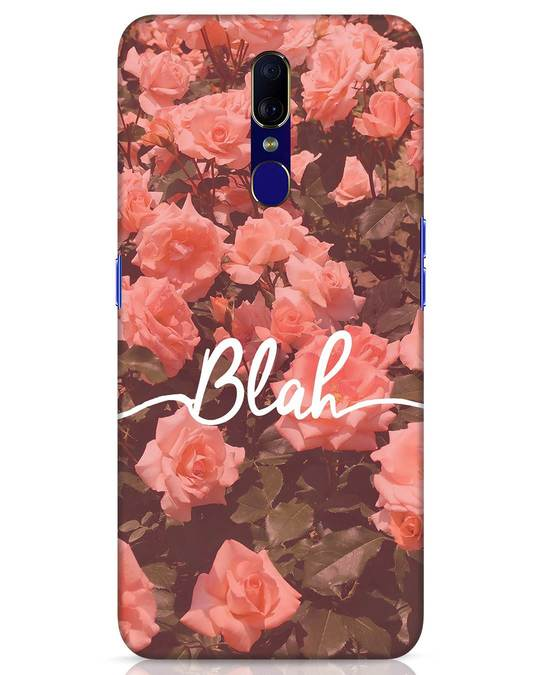 Shop Blah Oppo F11 Mobile Cover-Front