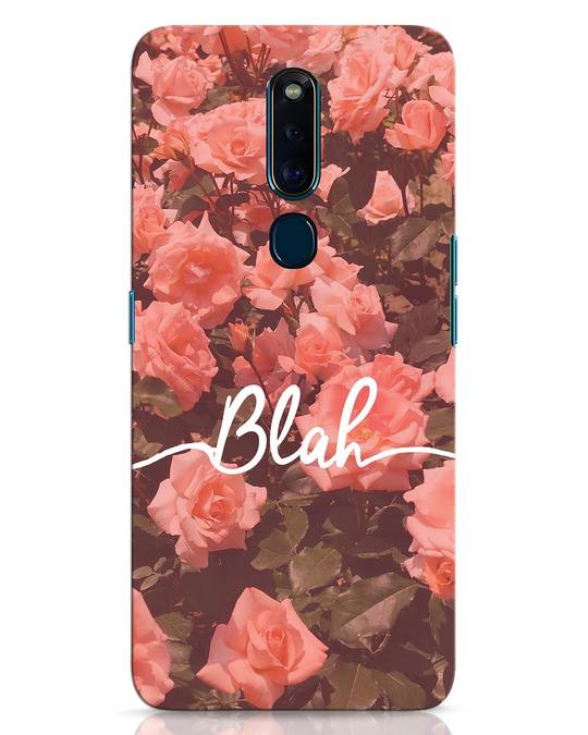 Shop Blah Oppo F11 Pro Mobile Cover-Front