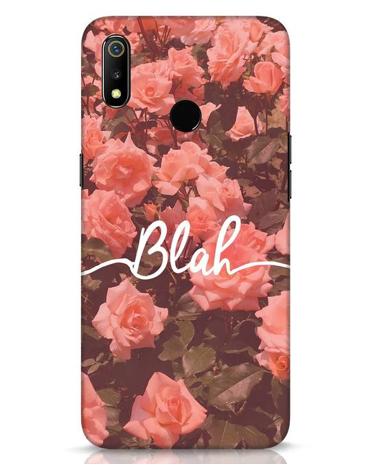 Shop Blah Realme 3 Mobile Cover-Front