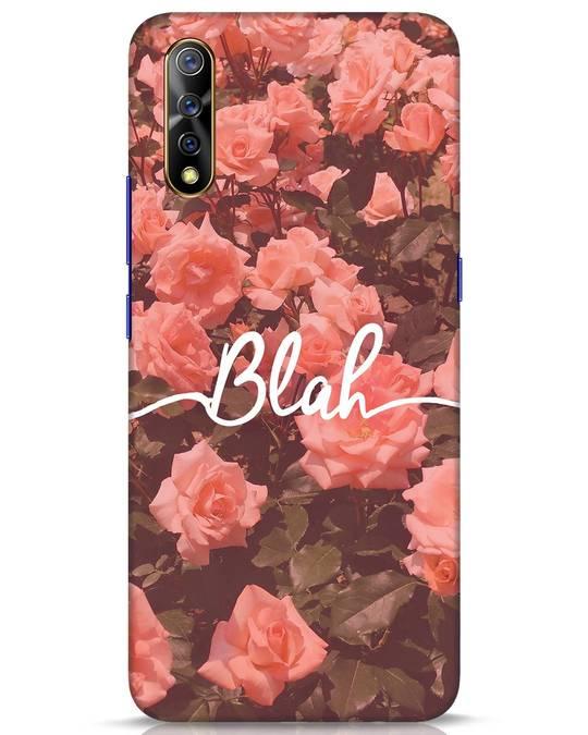 Shop Blah Vivo S1 Mobile Cover-Front