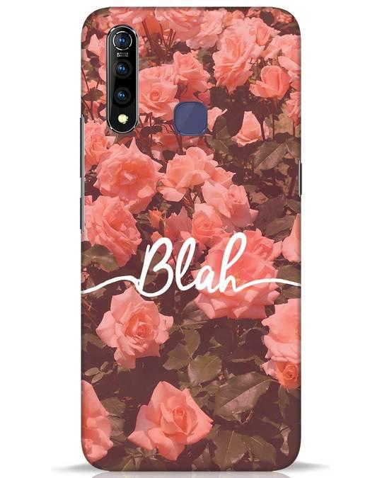 Shop Blah Vivo Z1 Pro Mobile Cover-Front