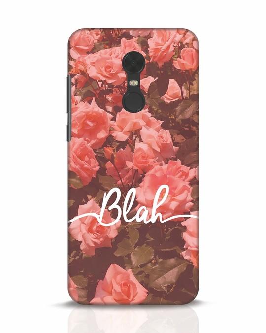 Shop Blah Xiaomi Redmi Note 5 Mobile Cover-Front