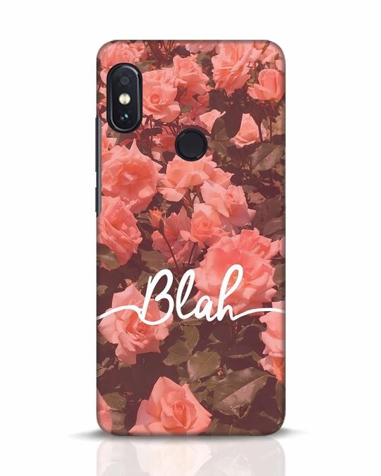 Shop Blah Xiaomi Redmi Note 5 Pro Mobile Cover-Front