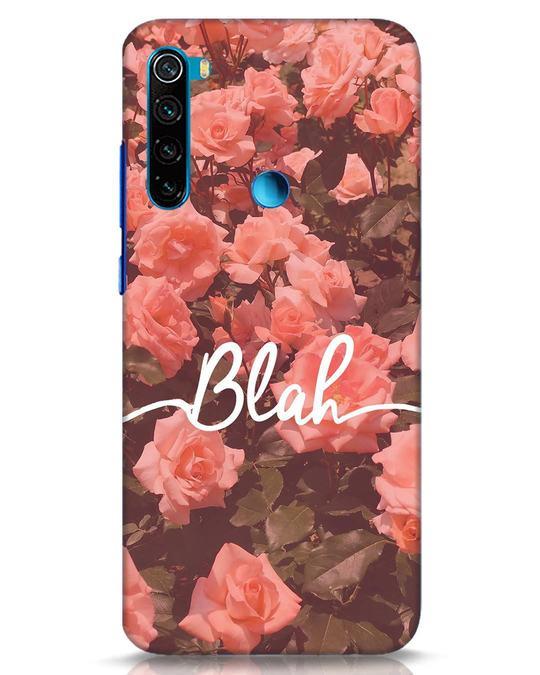 Shop Blah Xiaomi Redmi Note 8 Mobile Cover-Front