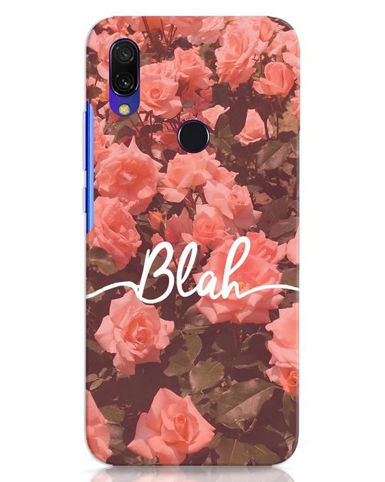 Shop Blah Xiaomi Redmi Y3 Mobile Cover-Front