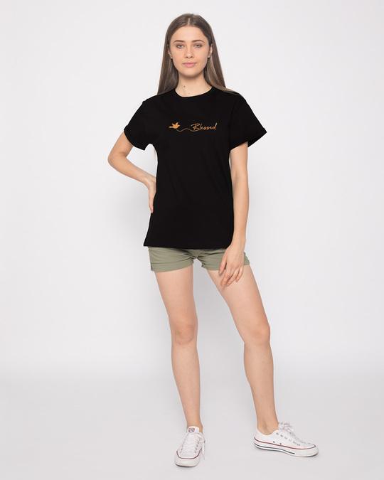 Shop Blessed Bird Boyfriend T-Shirt