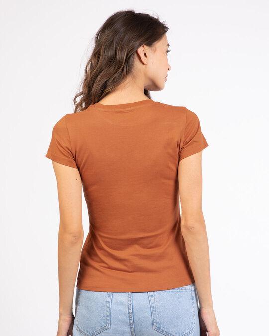 Shop Blissful Palm Tree Half Sleeve T-Shirt-Back
