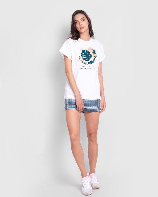Shop Bloom Wildly Boyfriend T-Shirt-Full
