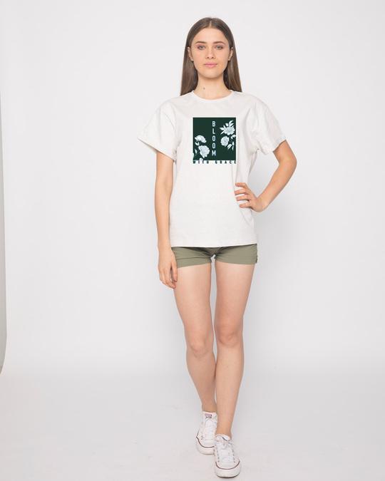 Shop Bloom With Grace Boyfriend T-Shirt-Design