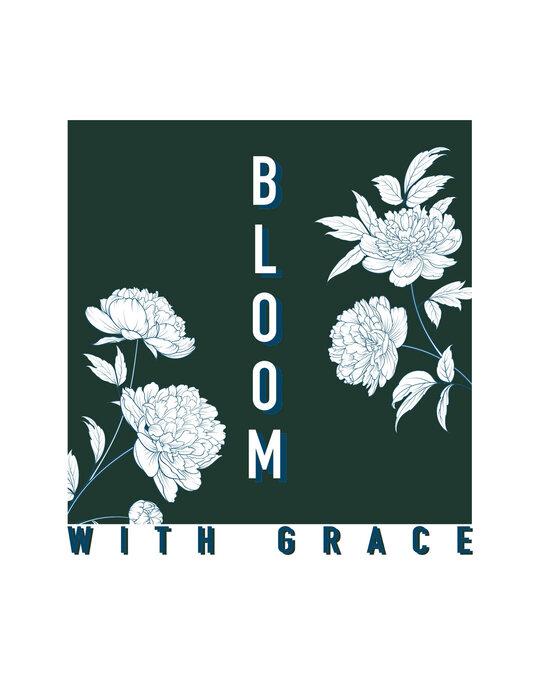 Shop Bloom With Grace Boyfriend T-Shirt-Full