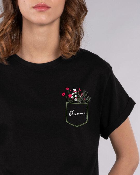 Shop Blooming Wildflowers Boyfriend T-Shirt-Front
