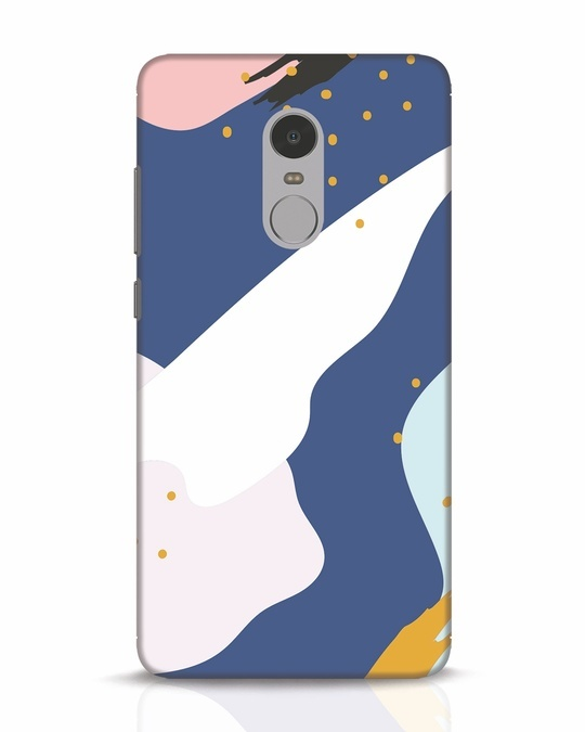Shop Blue Abstract Xiaomi Redmi Note 4 Mobile Cover-Front