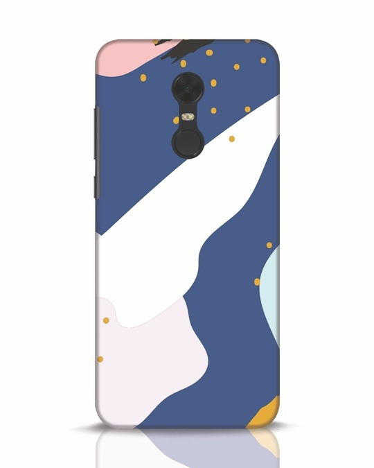 Shop Blue Abstract Xiaomi Redmi Note 5 Mobile Cover-Front