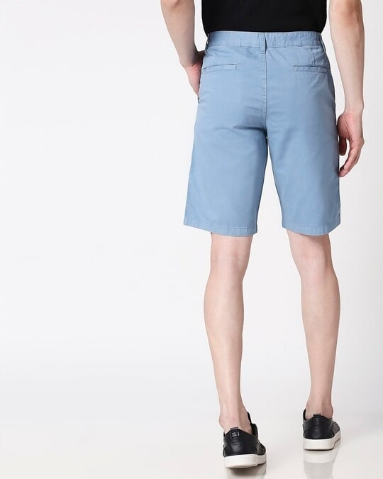 Shop Blue Dust Men's Shorts-Full